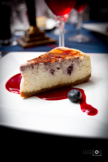 The blueberry cheesecake that no one could resist