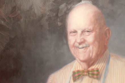 The Dean of Cookery himself: James Beard.