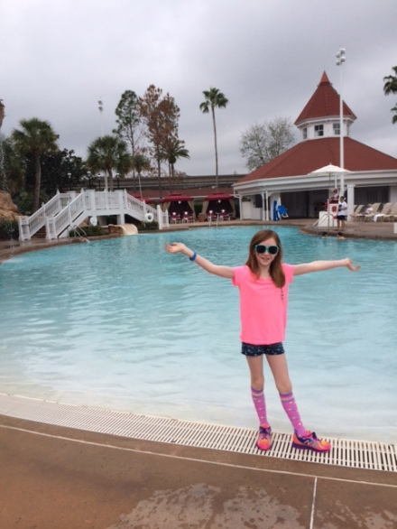 Ta-Da! The Grand Floridian Pool at Walt Disney World.