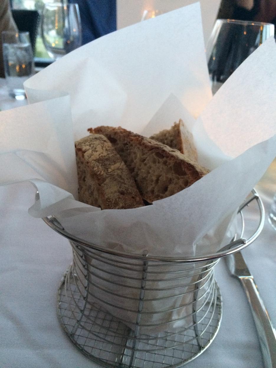 The Bread basket at Ocean, Kennebunkport