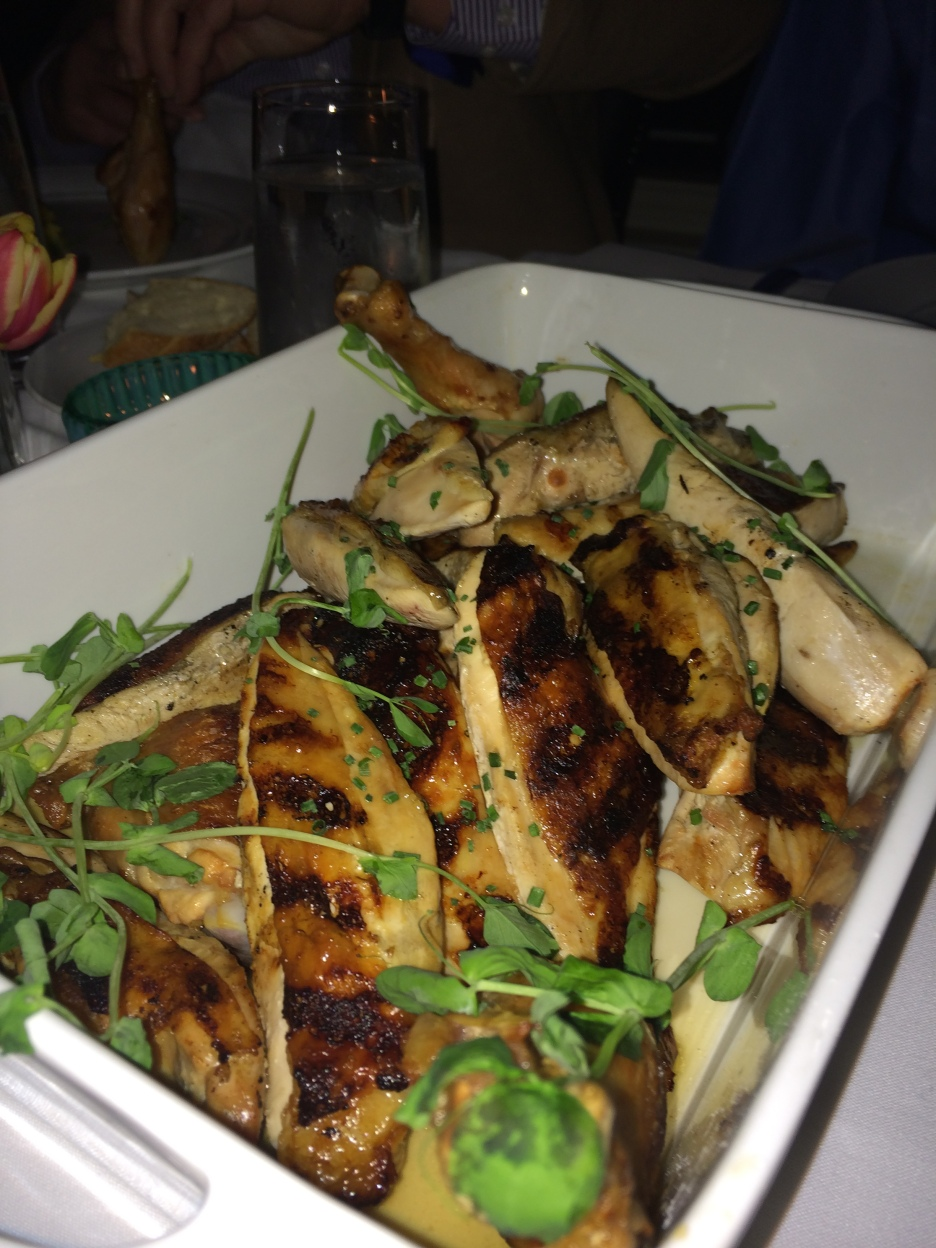 The pimenton-spiced chicken.