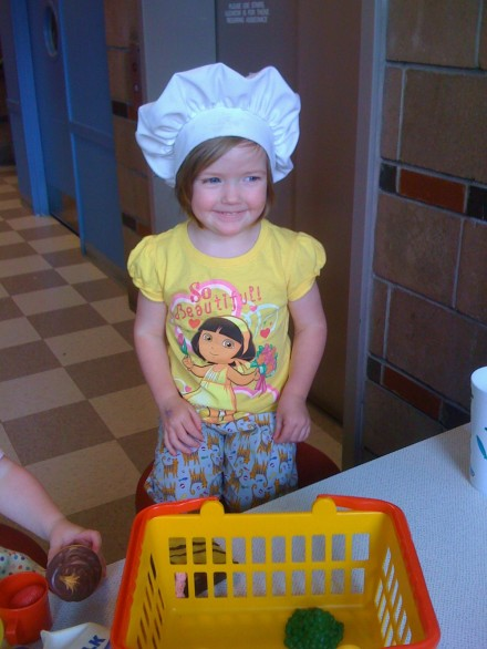 Kids love food and they love to cook.